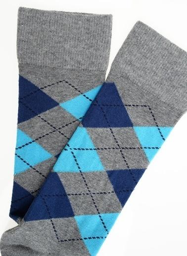 Katia & Bony Argyle Erkek Soket Çorap  Gri